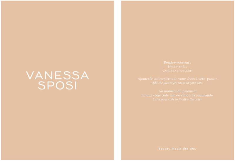 carte cadeau VANESSA SPOSI